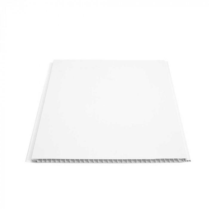 PVC Ламперия Бяла D100 25х260х0,7 см