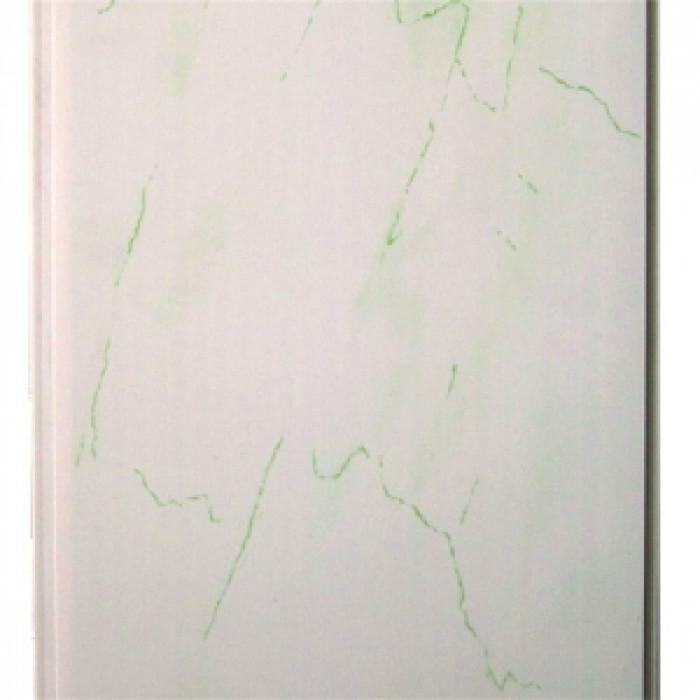 PVC Ламперия Зелен Мрамор