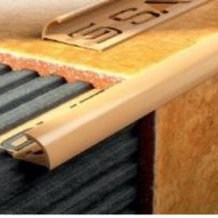 PVC външен ъгъл 2.5м мрамор крема