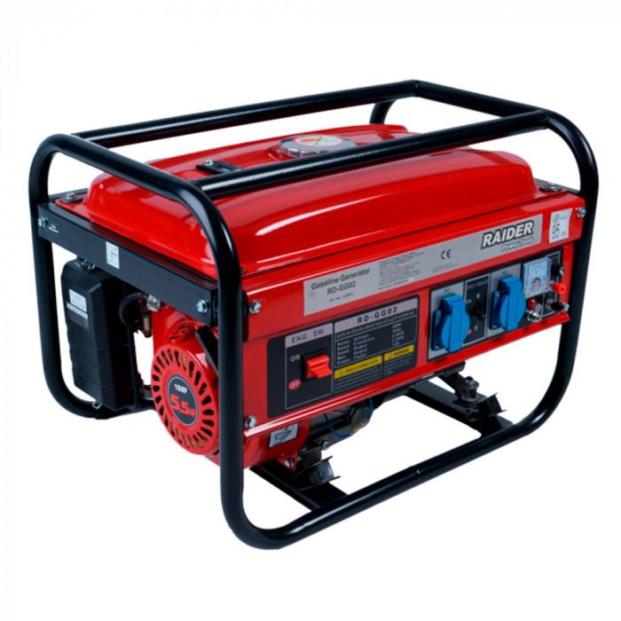 Бензинов генератор за ток Raider RD-GG02 / 2000W