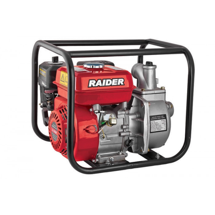Водна бензинова помпа Raider RD-GWP01 4.1kW