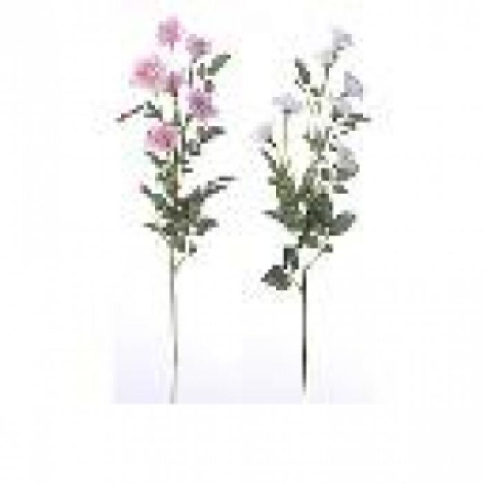 Роза клонче-изк.цвете 65см
