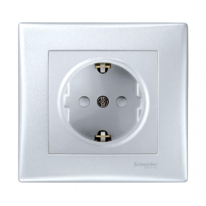 Електрически контакт  SCHNAIDER  SDN3000260 с детска защита, алуминиев