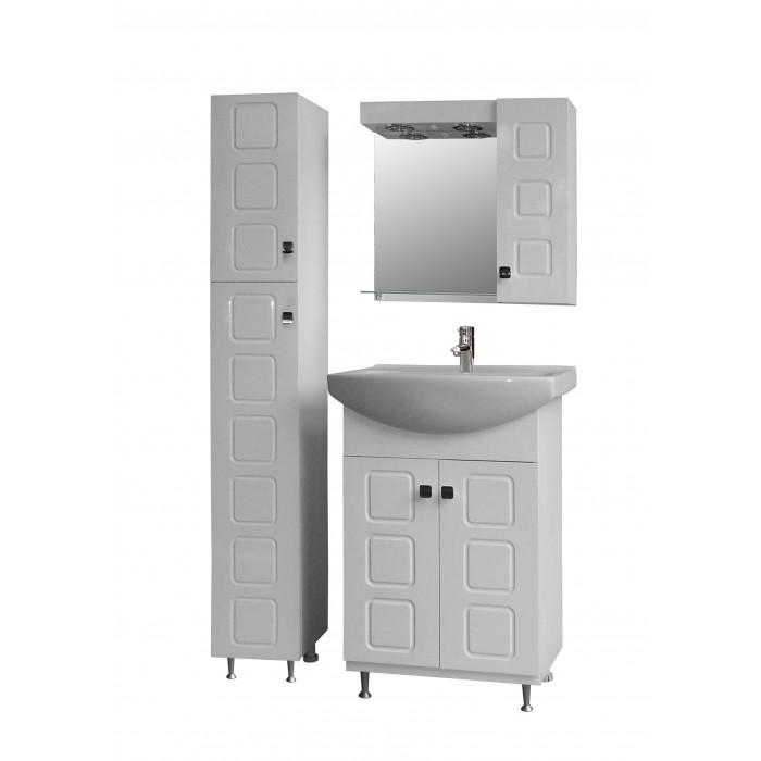 Шкаф за баня с огледало ОМЕГА, горен