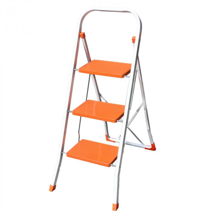 Домакинска метална стълба 3 стъпала