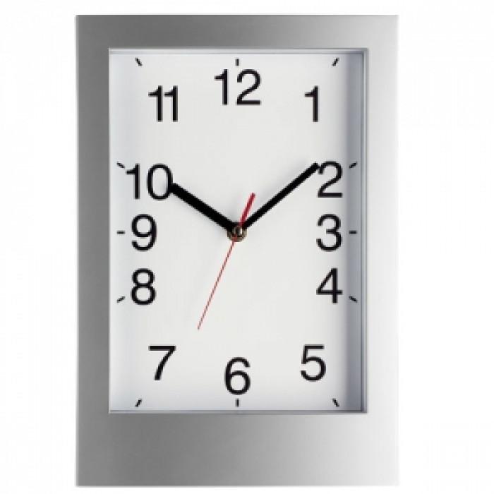 Стенен часовник със стъклен капак 318х219х45 mm