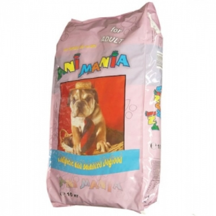 Суха храна за куче АНИМАНИЯ с пиле 10 кг.