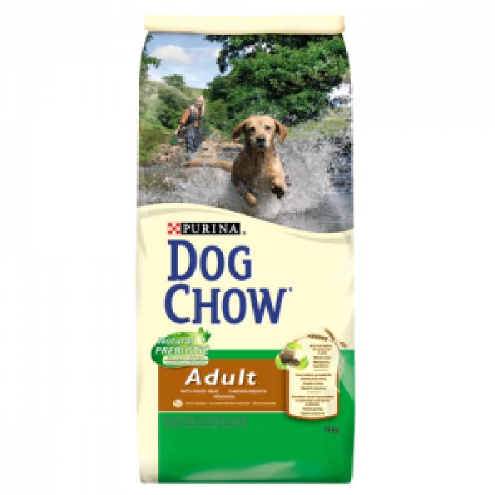 Суха храна за куче DOG CHOW ADULT с миксирани меса 15 кг.