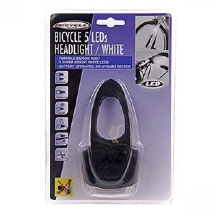 Светлина за велосипед  5 led