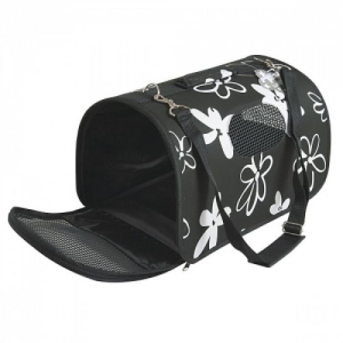 Транспортна чанта FLOWER размер S черна