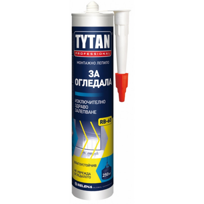 Монтажно лепило за огледала TYTAN 280мл