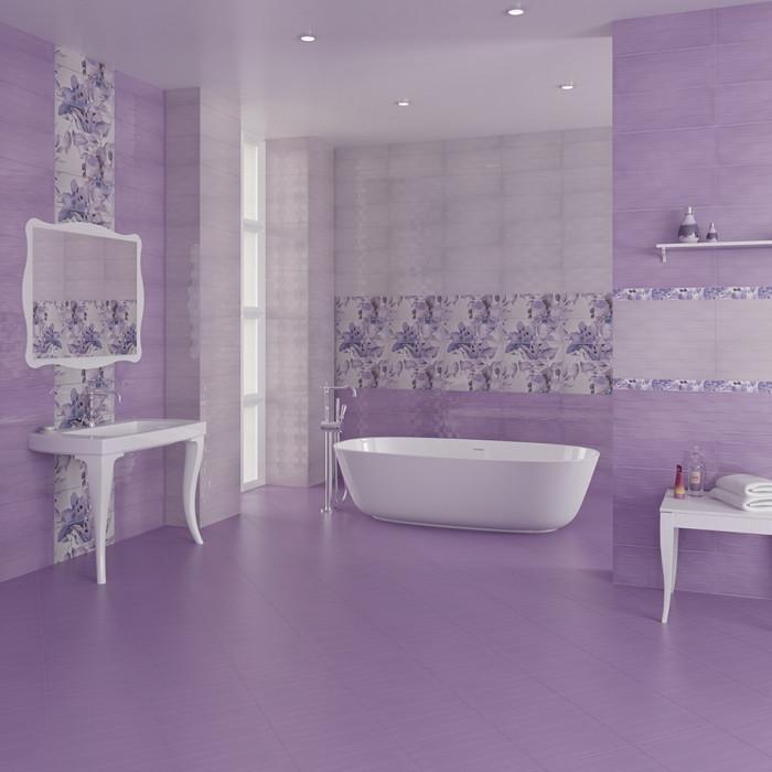 Стенни плочки IJ 200 x 500 Виола лилави