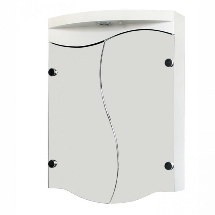 Горен шкаф за баня с огледало Макена Тринити