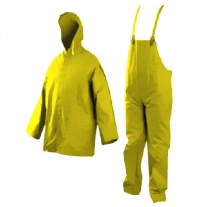 Водозащитен гащеризон и куртка с качулка
