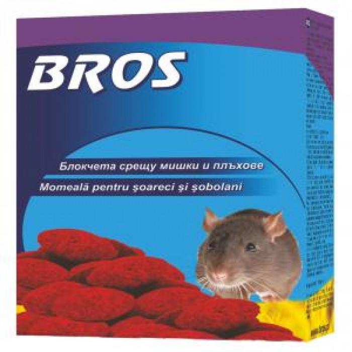 Восъчни блокчета срещу мишки и плъхове 100 гр