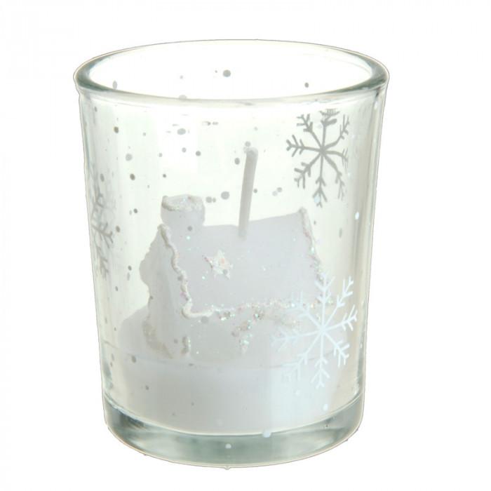 XMAS Свещ в чаша ACC102040