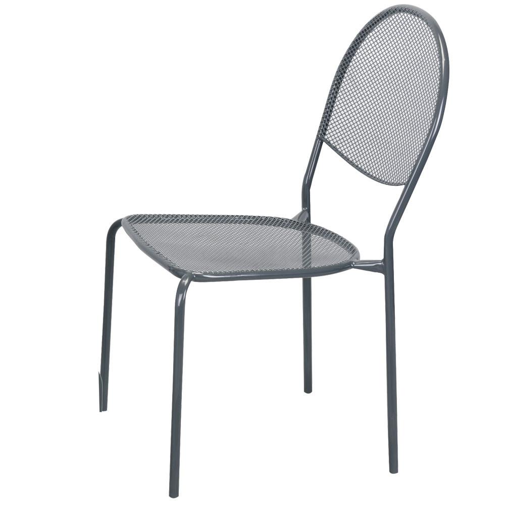 Метален стол, прахово боядисан, TLM036-C