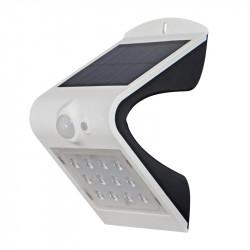 Соларна LED лампа за стена със сензор за движение 1.5W