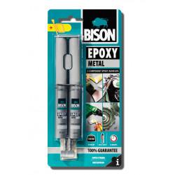 Епоксидно лепило Bison Epoxy Metal 24мл