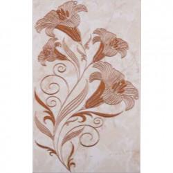 Стенни декоративни плочки център 250 x 400 Ибица кафяви