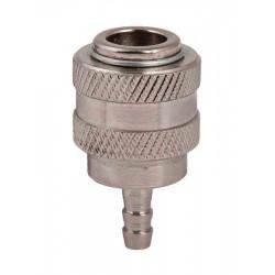 Пневматичен накрайник бърза връзка 1/4 маркуч ø6mm RAIDER QC07