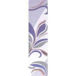 Плочки за стенна декорация / фриз 60x250 Царин лилави