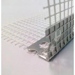 Ъгъл алуминиев 2.5 м с мрежа