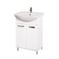 Долен шкаф за баня с мивка Класик