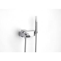 Стенен смесител за вана / душ Roca Thesis