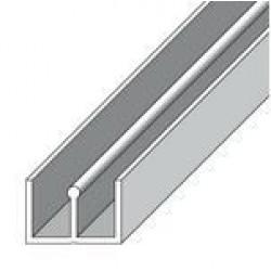 PVC П-образен профил 10х12 бял