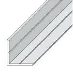 Ъглов PVC профил 23.5мм / 2.5м бял