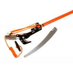 Ножица и трион TG, за високо рязане с дръжка, комплект