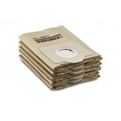 Хартиени филтърни торбички за прахосмукачка MV 3 (WD3) Karcher / 5 броя