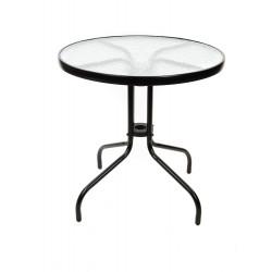 Градинска маса със стъклен плот TLH-070