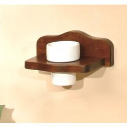 Държач за четки за зъби от дърво
