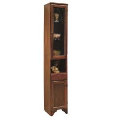 Мебел за баня тип колона от дърво Чинция 756D/V
