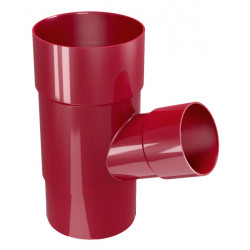 Утка  rainpipe ф 80 67.5°/ф50  бордо