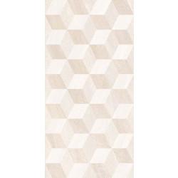 Стенни декоративни плочки IJ 250x500 Калисто ромб крем