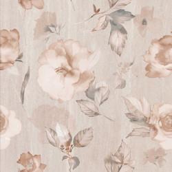 Стенни декоративни плочки комплект IJ 500 x 500 Калисто цветя бежови