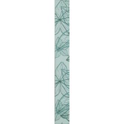 Стенни декоративни плочки фриз IJ 60 x 500 Изола цветя зелени