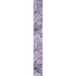 Стенни декоративни плочки фриз IJ 60x500 Изола цветя лилави