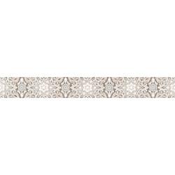 Стенни декоративни плочки фриз IJ 60x500 Ажур дантела светлобежови