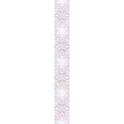 Стенни декоративни плочки фриз IJ 60 x 500 Ажур дантела светлорозови