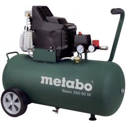 Компресор 50 л 1.5kW METABO BASIC 250-50 W