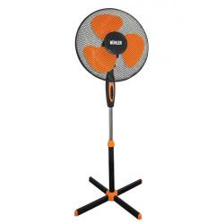 Вентилатор Muhler FM-5070 черен/оранж