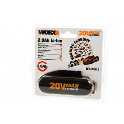 Батерия акумулаторна WA3551.1 Li-ion 20V 2.0Ah плъзгаща