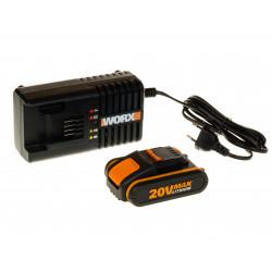 Акумулаторна батерия Li-ion 20V 2.0Ah Worx WA3601 + зарядно