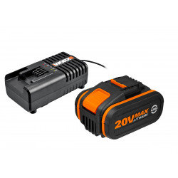 Акумулаторна батерия WORX WA3604 Li-ion 20V 4.0Ah