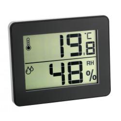 Цифров термометър-хидрометър, мин-макс, черен