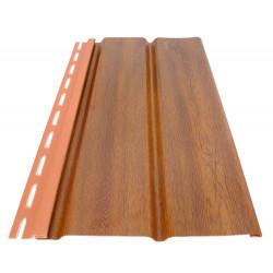 Обшивка за стреха Soffit панел 3м, златен дъб 2